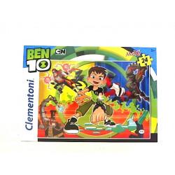 CLEMENTONI Puzzle MAXI SuperColor 24el. Ben 10 24498