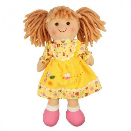 Bigjigs Toys - BJD002 - Lalka Szmaciana 28 cm - Daisy - Dominika