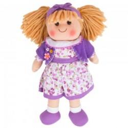 Bigjigs Toys - BJD014 - Lalka Szmaciana 34 cm - Laura - Laurka