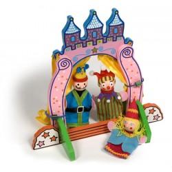 Bigjigs Toys - BJ243 - Teatrzyk z Pacynkami