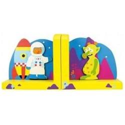Bigjigs Toys - BJ963 - Podpórki na Książki - Kosmos