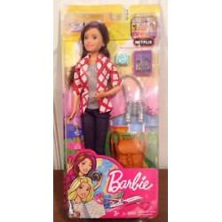 MATTEL Lalka Barbie SKIPPER W PODRÓŻY FWV17