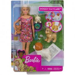 MATTEL Lalka Barbie OPIEKUNKA PIESKÓW FXH08