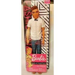 MATTEL Lalka Barbie Fashionistas STYLOWY KEN NR 117 FXL64