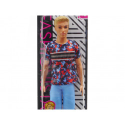 MATTEL Lalka Barbie Fashionistas STYLOWY KEN NR 118 FXL65