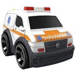Fisher-Price - Y5254 - Samochodziki Rollers - Ambulans