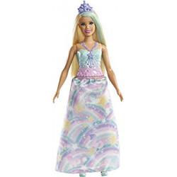 MATTEL Barbie w Krainie Dreamtopia LALKA KSIĄŻNICZKA FXT14