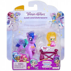 FISHER PRICE Shimmer & Shine Lalka LEAH I ZAHRACORN Fioletowy FPV98