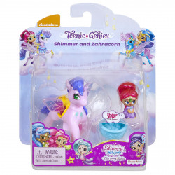 FISHER PRICE Shimmer & Shine Lalka SHIMMER I ZAHRACORN Różowy FPW00