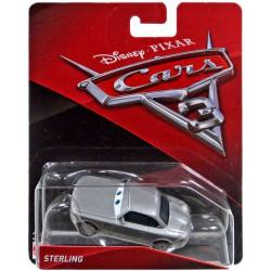 Mattel CARS Samochodzik STERLING DXV63