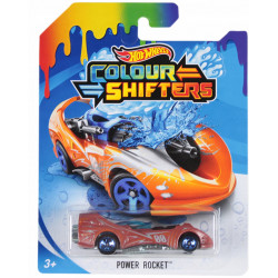 HOT WHEELS Auto Zmieniające Kolor POWER ROCKET GBF24