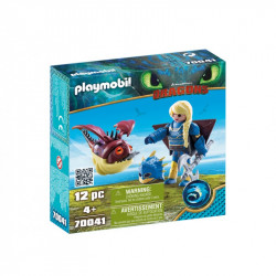PLAYMOBIL 70041 DRAGONS SMOKI Astrid i Hobbgobler