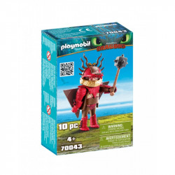 PLAYMOBIL 70043 DRAGONS SMOKI Sączysmark w Zbroi do Latania