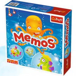 TREFL Gra Memo Morskie Zwierzątka 01611