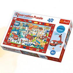 TREFL Puzzle Obserwacyjne 70 sztuk REMIZA 15537
