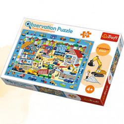 TREFL Puzzle Obserwacyjne 70 Sztuk NA BUDOWIE 15538