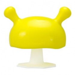 MOMBELLA Gryzak Uspokajający Mushroom Żółty 701651