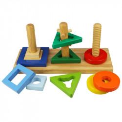 BigjJgs Toys DREWNIANY SORTER BJ376