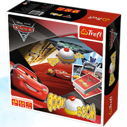 Trefl Gra Planszowa BOOM BOOM Cars 3 Disney 01491