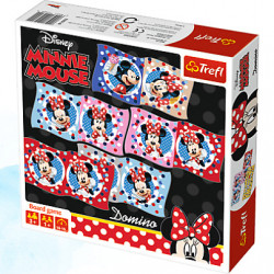 Trefl DOMINO Minnie Disney 01600