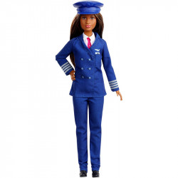 MATTEL Lalka Barbie You Can Be Anything LALKA PILOT GFX25
