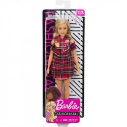 MATTEL Lalka Barbie Fashionistas LALKA NR 113 GBK09