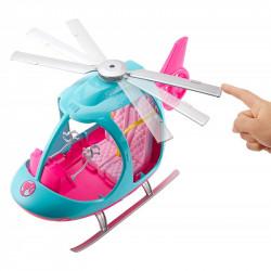 MATTEL Lalka Barbie HELIKOPTER FWY29