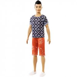 MATTEL Lalka Barbie STYLOWY KEN Fashionistas Nr 115 FXL62