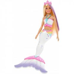 MATTEL Lalka Barbie DREAMTOPIA LALKA SYRENKA Kolorowa Magia GCG67