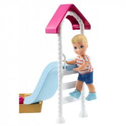 MATTEL Lalka Barbie Opiekunka Skipper PLAC ZABAW FXG96