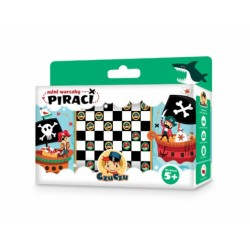 CzuCzu - 4868156 - Mini Warcaby - Puzzle - Piraci