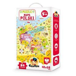 CzuCzu - 4862610 - Puzzle 84 - Mapa Polski