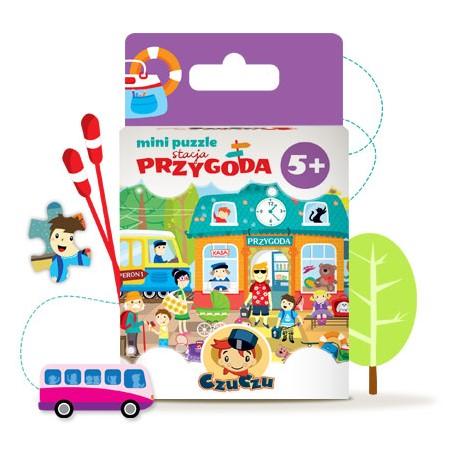 CzuCzu - 4767498 - Mini Puzzle 80 - CzuCzu w Podróży - Stacja Przygoda
