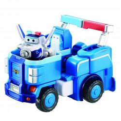 SUPER WINGS Transformujący Pojazd z Figurką PAUL 720315