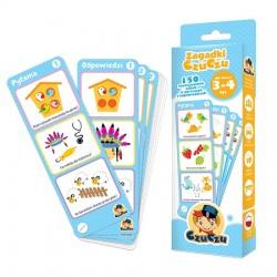 CzuCzu - 4815452 - Zagadki CzuCzu - 150 Rozwijających Zabaw w Pytaniach i Odpowiedziach - 3 - 4 lata