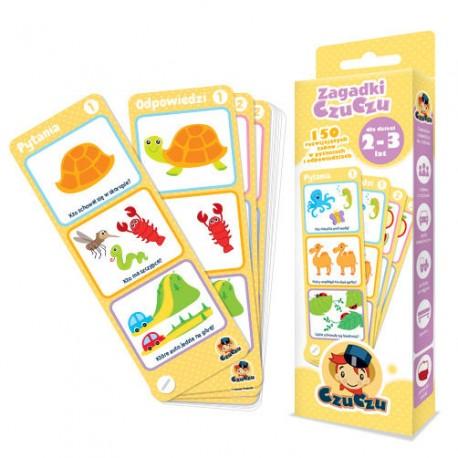 CzuCzu - 4815451 - Zagadki CzuCzu - 150 Rozwijających Zabaw w Pytaniach i Odpowiedziach - 2 - 3 lata