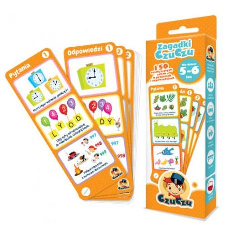 CzuCzu - 4815454 - Zagadki CzuCzu - 150 Rozwijających Zabaw w Pytaniach i Odpowiedziach - 5 - 6 lat