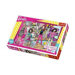 TREFL Puzzle Układanka 160 el. MODNA BARBIE 15362