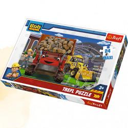 TREFL Puzzle Maxi Układanka 24 el. BOB BUDOWNICZY Damy Radę 14246