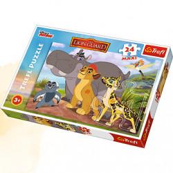 TREFL Puzzle Maxi Układanka 24 el. LWIA STRAŻ 14240
