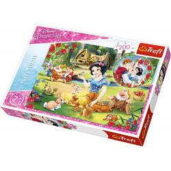 TREFL Puzzle Układanka 200 el. Królewna Śnieżka MARZENIA O MIŁOŚCI 13204