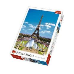 TREFL Puzzle Układanka 2000 el. Wieża Eiffla 27051