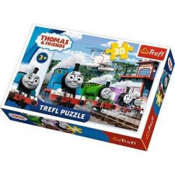 TREFL Puzzle Układanka 30 el. TOMEK I PRZYJACIELE 18230