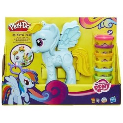 Ciastolina Play-Doh - B0011 - My Little Pony - Salon Fryzjerski Rainbow Dash