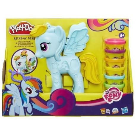 Ciastolina Play-Doh - B0011 - My Little Pony - Salon Fryzjerski Rainbow Dash