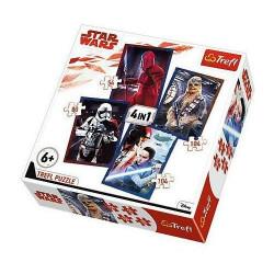 TREFL Puzzle Układanka 4w1 Star Wars GOTOWI DO STARCIA 34277