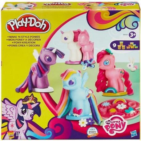Ciastolina Play-Doh - B0009 - My Little Pony - Stylowe Kucyki