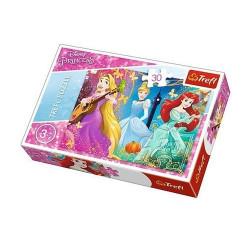 TREFL Puzzle Układanka 30 el. Disney Princess ZACZAROWANA MELODIA 18234