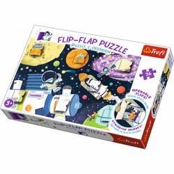 TREFL Puzzle z Okienkami 36 el. KOSMOS 14272