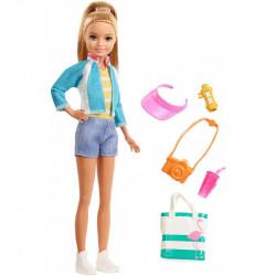 MATTEL Lalka Barbie STACIE W PODRÓŻY FWV16